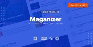 Maganizer v1.0 – Modern Magazine WordPress Theme