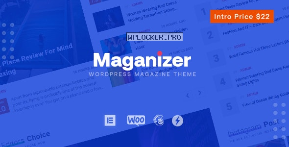 Maganizer v1.0 – Modern Magazine WordPress Theme