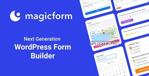 MagicForm v1.5.3 – WordPress Form Builder