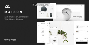 Maison v1.23 – Minimalist eCommerce WordPress Theme