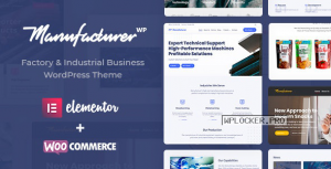 Manufacturer v1.3.3 – Factory and Industrial WordPress Theme