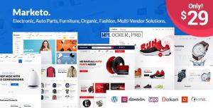 Marketo v3.2 – ECommerce & Multivendor Theme