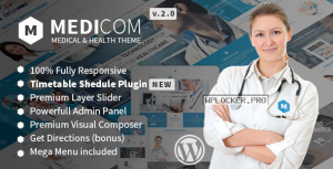 Medicom v3.0.9 – Medical & Health WordPress Theme