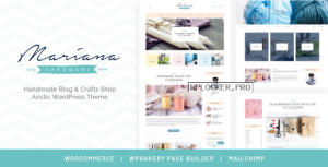 Melania v1.5.3 – Handmade Blog & Shop WordPress Theme