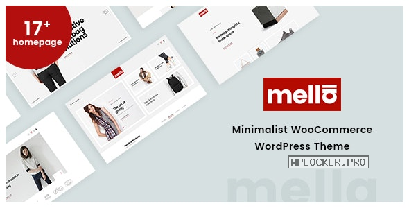 Mella v1.2.19 – Minimalist Ajax WooCommerce WordPress Theme