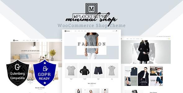 Minimal Shop v2.2 – WooCommerce Theme