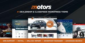 Motors v4.9.7 – Automotive, Cars, Vehicle, Boat Dealership