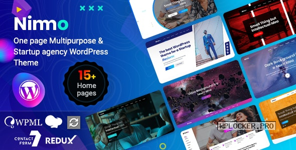 Nimmo v1.2.1 – One page WordPress