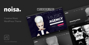 Noisa v2.5.5 – Music Producers, Bands & Events Theme for WordPress