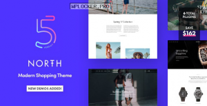 North v5.6.1 – Responsive WooCommerce WordPress Theme