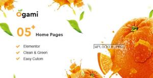 Ogami v1.28 – Organic Store & Bakery WordPress Theme