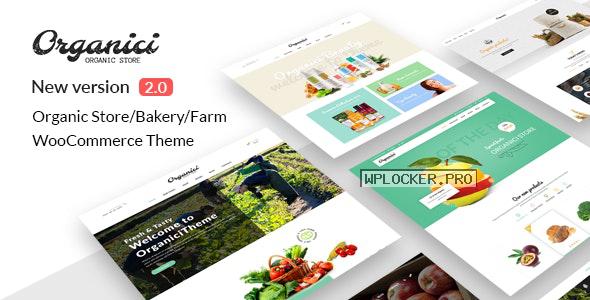 Organici v2.1.0 – Organic Store & Bakery WooCommerce Theme