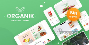 Organik v2.9.4 – An Appealing Organic Store