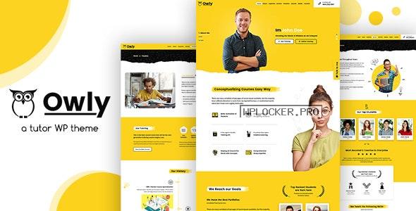 Owly v2.2 – Tutor, Training WordPress, elearning Theme