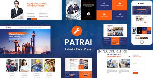 Patrai Industry v1.8 – Industrial WordPress