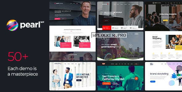 Pearl WP v3.2.9 – Corporate Business WordPress Theme
