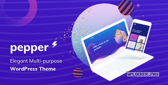 Pepper v1.5 – Elegant Multi Purpose WordPress Theme
