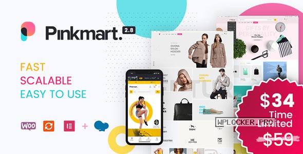Pinkmart v2.9 – AJAX theme for WooCommerce
