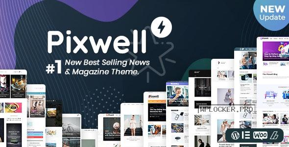 Pixwell v6.1 – Modern Magazine