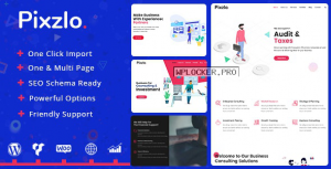 Pixzlo v1.1.2 – Creative Theme for Professionals