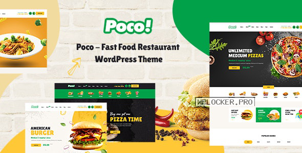 Poco v1.5.0 – Fast Food Restaurant WordPress Theme