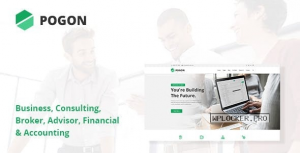 Pogon v1.0.5 – Business and Finance Corporate WordPress Theme