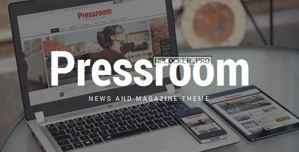 Pressroom v5.2 – News and Magazine WordPress Theme
