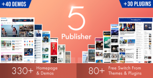 Publisher v7.8.0 – Newspaper Magazine AMP