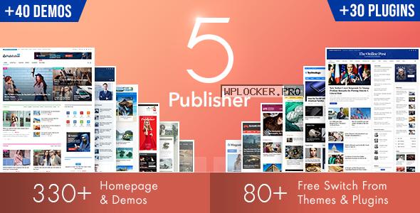 Publisher v7.9.0 – Newspaper Magazine AMP