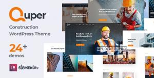 Quper v1.4 – Construction and Architecture WordPress Theme