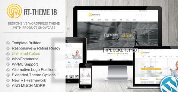 RT-Theme 18 v2.3 – Responsive WordPress Theme