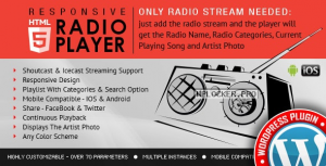 Radio Player Shoutcast & Icecast v4.1