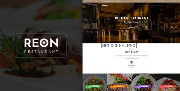 Reon v1.1.4 – Restaurant WordPress Theme