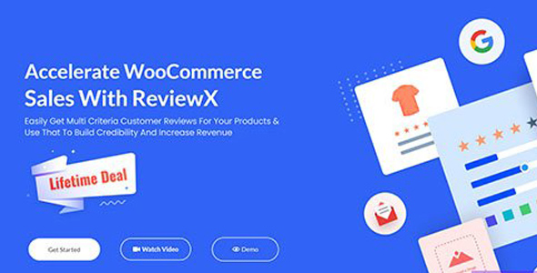 ReviewX Pro v1.1.5 – Accelerate WooCommerce Sales With ReviewX
