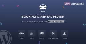 RnB v10.0.7 – WooCommerce Rental & Bookings System