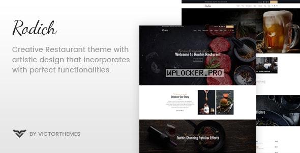 Rodich v2.1 – A Restaurant WordPress Theme