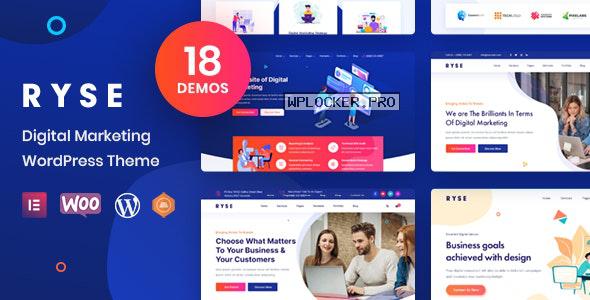 Ryse v3.0.0 – SEO & Digital Marketing Theme