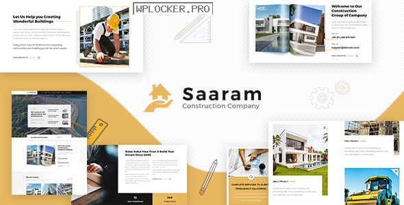 Saaram v1.6 – Architect WordPress