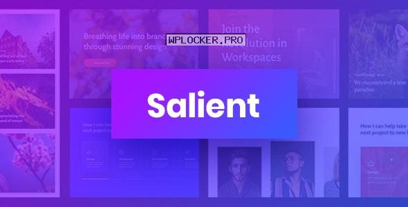 Salient v12.1.6 – Responsive Multi-Purpose Theme