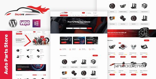 Sayara v1.1.2 – Auto Parts Store WooCommerce WordPress Theme