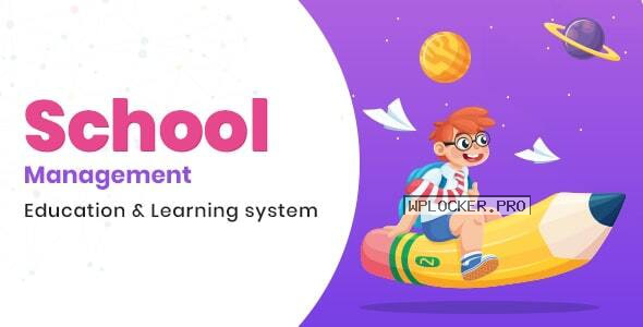 School Management v7.1 – Education & Learning Management system for WordPress