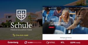 Schule v1.0.9 – School & Education Theme