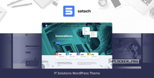 Setech v1.0.3 – IT Services and Solutions WordPress Theme