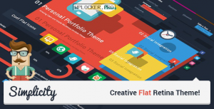 Simplicity v2.1 – Creative Flat Retina Theme