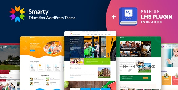 Smarty v3.4.5 – Education WordPress Theme for Kindergarten