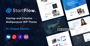 Start Flow v1.11 – Startup and Creative Multipurpose WordPress Theme