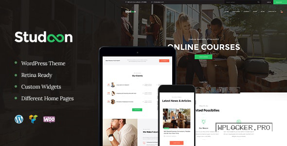 Studeon v1.1.5 – Education Center & Training Courses Theme