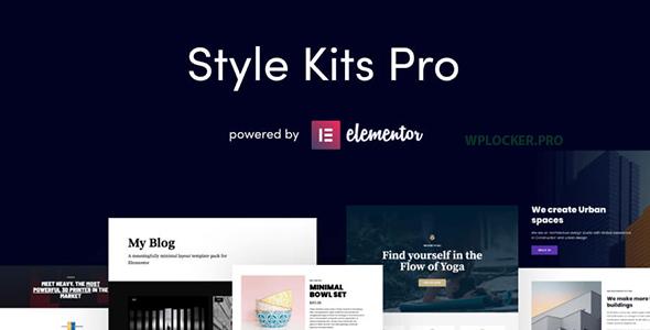 Style Kits Pro v1.1.2 – Get an Unfair Design Advantage in Elementor