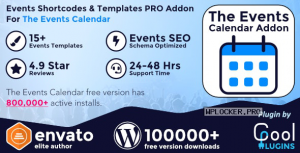 The Events Calendar Shortcode and Templates Pro v2.5