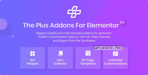 The Plus v4.1.3 – Addon for Elementor Page Builder WordPress Plugin